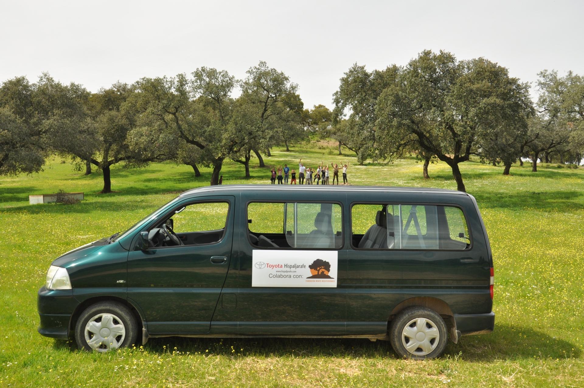 Toyota Hispaljarafe colabora con Fundación Monte Mediterráneo